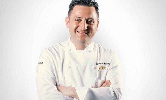 Domenico Iavarone, 35anni, chef del ristorante J