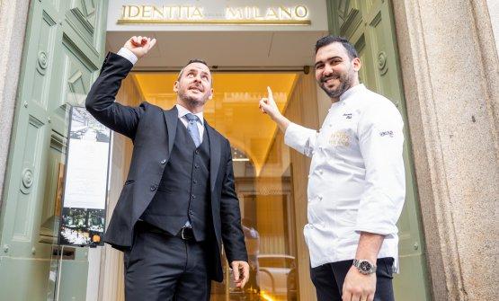 Con Rudy Travagli, restaurant manager dell'Enoteca La Torre
