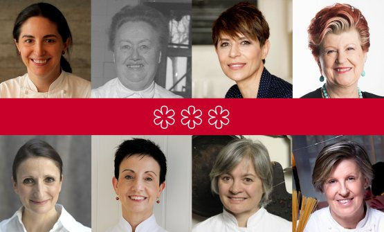 The female chefs with three stars, in chronologica