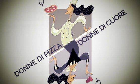 L'illustrazione diSerema Romioper leDonne di pizza donne di cuore