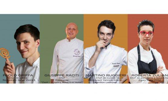 I candidati che si sono sfidati nella finale italiana