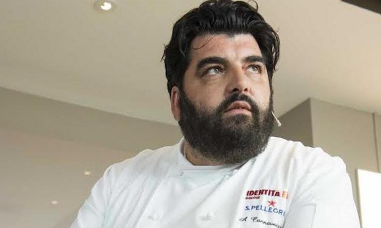 Cannavacciuoloè chef dell'anno per la Guida di Identità Golose 2013 (foto Brambilla/Serrani)