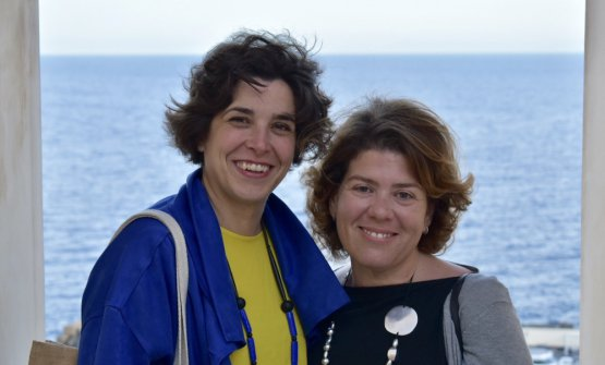 Margherita Longo ed Elisa Iorio di VisitUstica