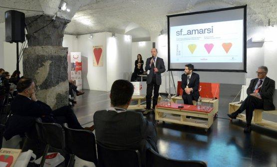 Un'immagine dal Congresso sf_amarsi, organizzato a febbraio 2018 a Genova, da cui è nata questa iniziativa