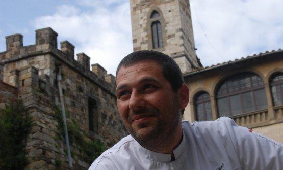 Lo chef alla guida dell'Osteria di Passignano