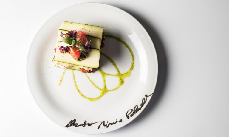 Lo splendido piatto di Paluello