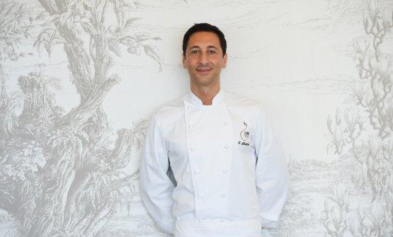 Lo chef Fabio Abbattista