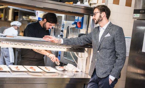 Luca Gambaretto, giovane imprenditore della ristor