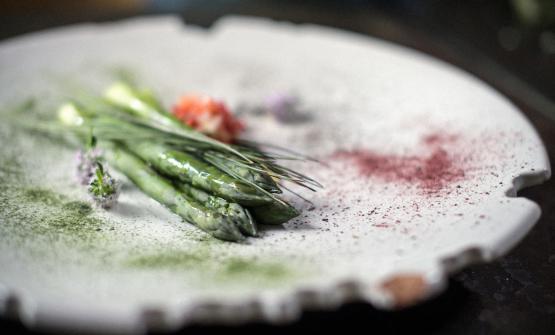 Uno dei piatti vegetariani del ristorante Arbusto,