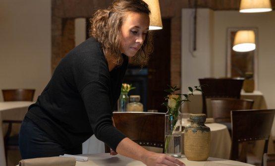 Ilaria Iannone, factotum di sala e cantina