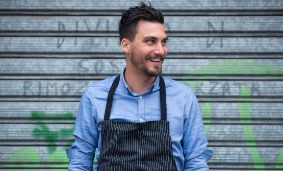 Lo chef Simone Cipriani