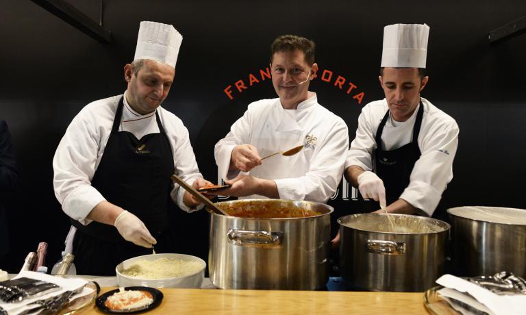 Chicco Cerea, chef di Da Vittorio a Brusaporto (Be