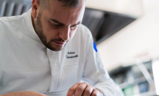 Andrea Valentinetti, classe 1985, è chef-patron del Radici a Padova
