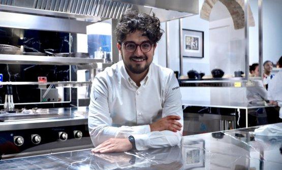 Pasquale Laera, chef pugliese classe 1988, col soc