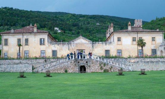 Villa della Torre, di proprietà della famigliaAllegrini: qui si è svolta la serata di presentazione di Generations