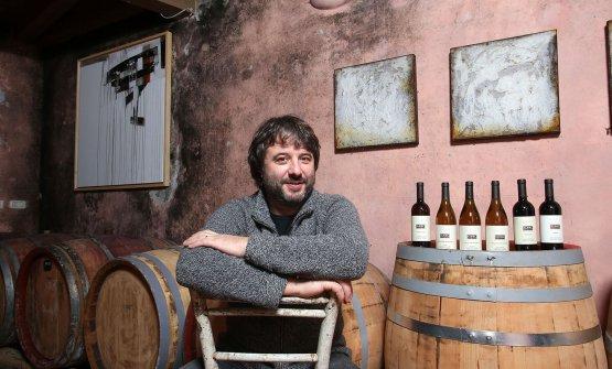 Aleks Klinec and his wines