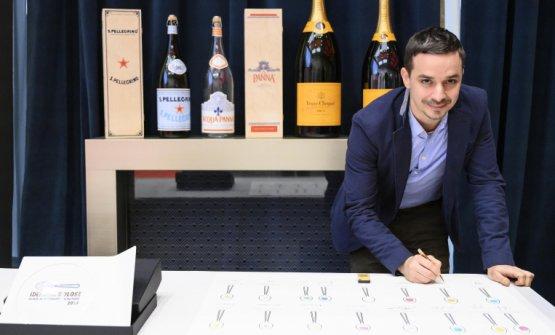Gianluca Gorini,premiato daConsorzio Grana Padano
