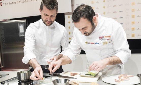 Con Enrico Bartolini