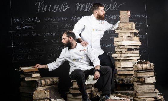 Christian e Manuel Costardi. La foto è di Brambil