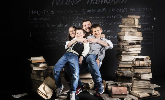 Gipponi & family a Identità Golose 2019(foto Brambilla-Serrani)