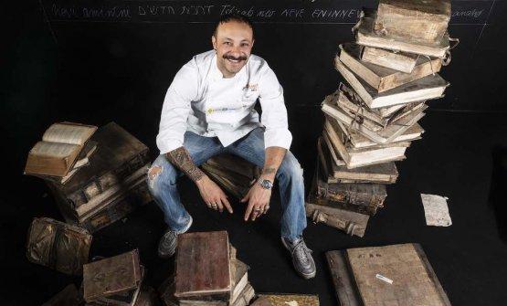 Diego Rossi, chef dell'anno 2020 per la Guida di Identità Golose 2020(foto Brambilla/Serrani)