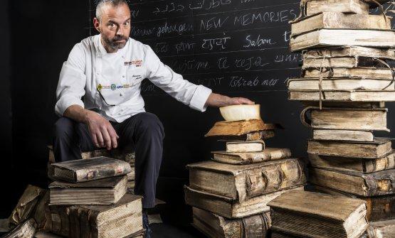 Massimo Alverà, titolare di una pasticceria di Co