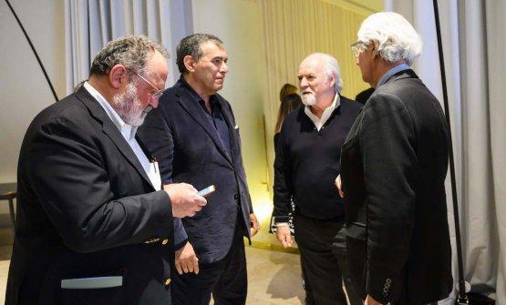 Paolo Marchi, Claudio Ceroni, Antonio Ricci, Davide Rampello