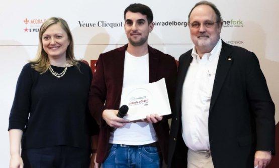 Premio LA SORPRESA DELL'ANNO, offerto daBonaventura Maschio - Anna Maschio, Distillatrice  ANTONIO ZIANTONI - ZIA – ROMA
