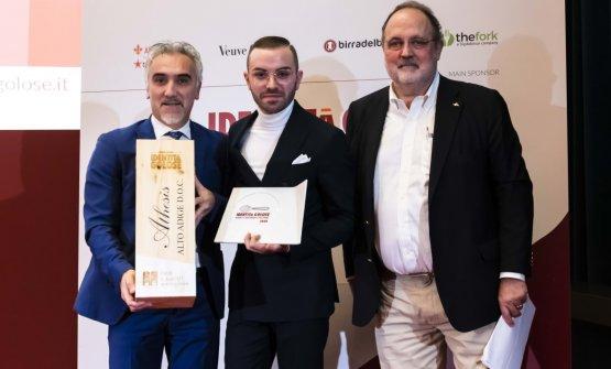 Premio IL MIGLIOR MAITRE, offerto daKettemeir - Alberto Ugolini, Brand Ambassador  NICOLA LOIODICE -DUE CAMINI A BORGO EGNAZIA - FASANO (BRINDISI)