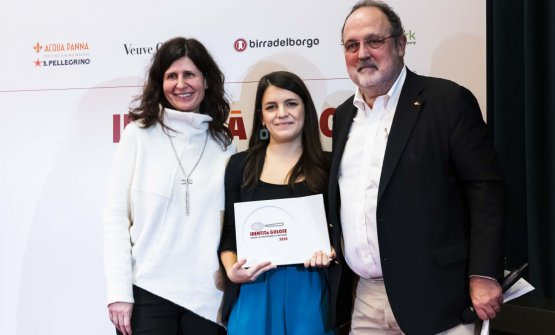 Premio MIGLIOR FOOD WRITER, offerto daTurespañaEnte del Turismo Spagnolo - Maite Vicente de Juan, Responsabile Comunicazione  GIORGIA CANNARELLA - MUNCHIES