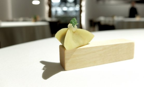 Delizioso il Raviolo ripieno di porro
