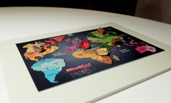 Coccole finali: l'ormai celebre Risiko (2016), con ilAmerica del Nord rappresentato da una pralina al latte con yogurt e burro di arachide; l'Africa, pralina conliquirizia, caffè e limone; India, pralina conmasala e pomodoro essiccato; la Kamčatka, pralina convodka elampone e cocco; infine l'Italia, unagelatina di Select e buccia di limone