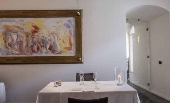 La sala del ristorante Elena