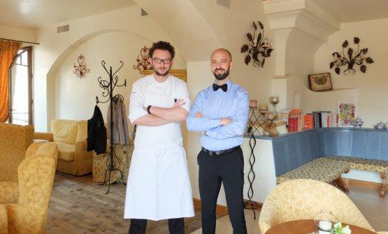 Alessio Longhini e Jgor Tessari: sono le due colon