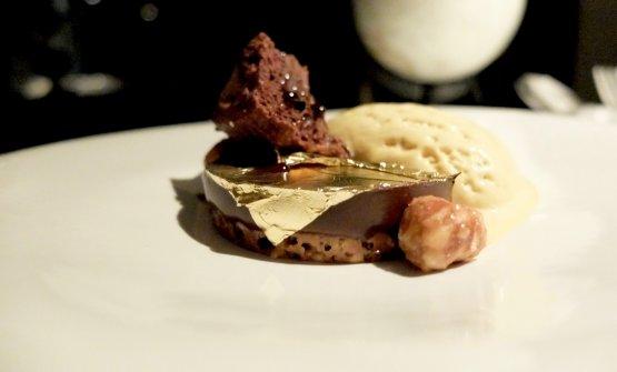 Cioccolato, nocciola,caffé, sesamo, latte più(citazione ad Arancia Meccanica: panna, cognac e liquore al cioccolato bianco)