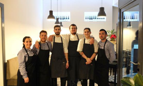Lo staff del Materia: Ambra Sberna, Luca Sberna, Davide Calani, Davide Caranchini, Guglielmo Curcio, Marco Sberna (foto Tanio Liotta)