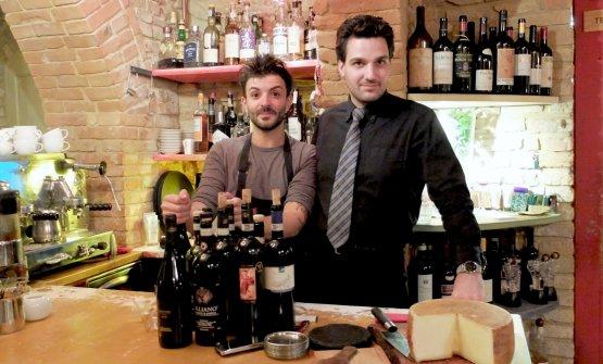 Alberto Sparacino con patronLorenzo Di Paolantonio