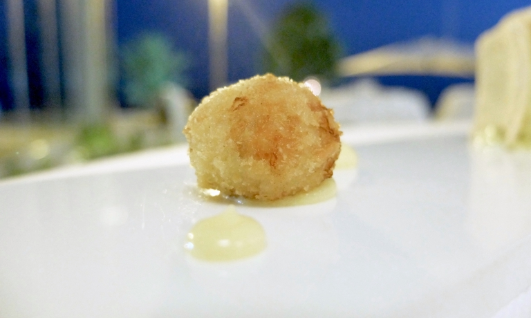 Cozza gratinata e marinata al Vecchio Samperi De Bartoli