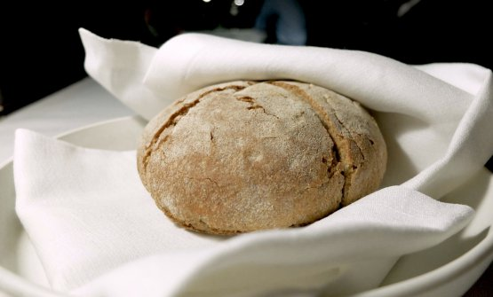Il pane fatto in casa, a base di farine di Tumminia, Russello e Perciasacchi