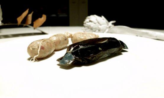 I salumi di mare di Franzin: salsiccia di branzino e cotechino di matàn