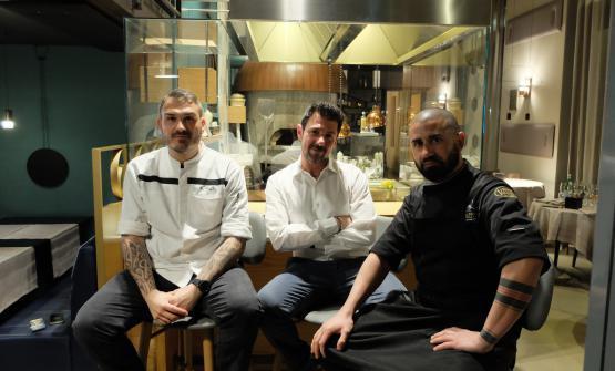 Roberto Di Pinto, Davide Iannaco e Vincenzo Masi