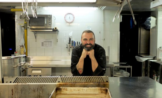Lo chef Claudio Sordi, de I Carracci, ristorante d