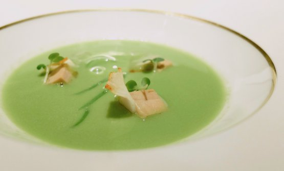 Potage Saint-Germain, French classic with dried pulses