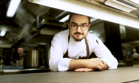 Pasquale Laera, born in 1988, is chef at La Rei, t