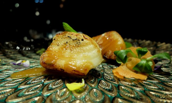 Black Cod in salsa miso