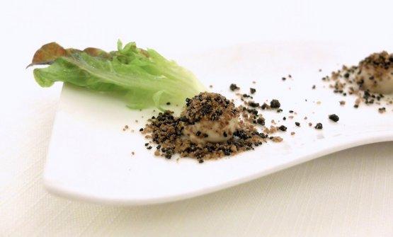 Cuore d'insalata gentile, maionese al brodo vegetale