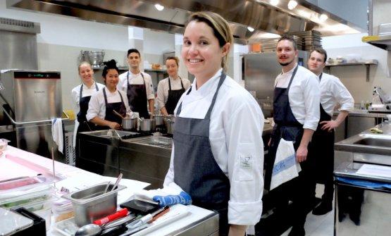 Karime Lopez, chef di Gucci Osteria a Firenze
