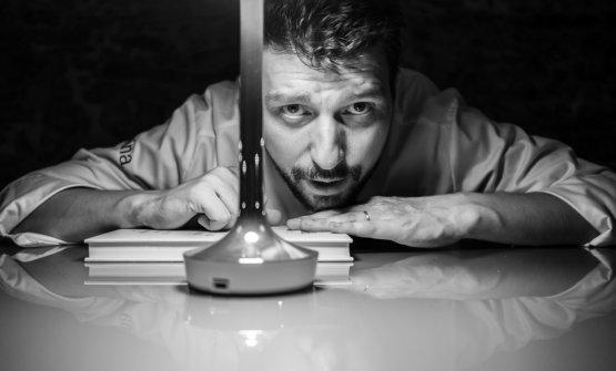 Lo chef Alberto Gipponi(foto di Lido Vannucchi)