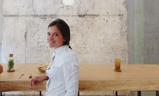 Valeria Margherita Mosca, fondatrice e ideatrice del Wood*ing Lab. Da diversi mesi lavora per l'apertura del Wood*ing Bar a Milano, in via Garigliano 8 (telefono +39.338.1032392) [tutte le foto Elisa Pella e Niccolò Vecchia]