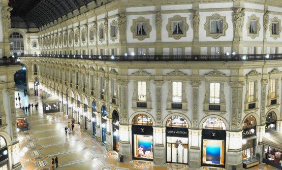 ...e dal quale si gode una vista impareggiabile sulla Galleria